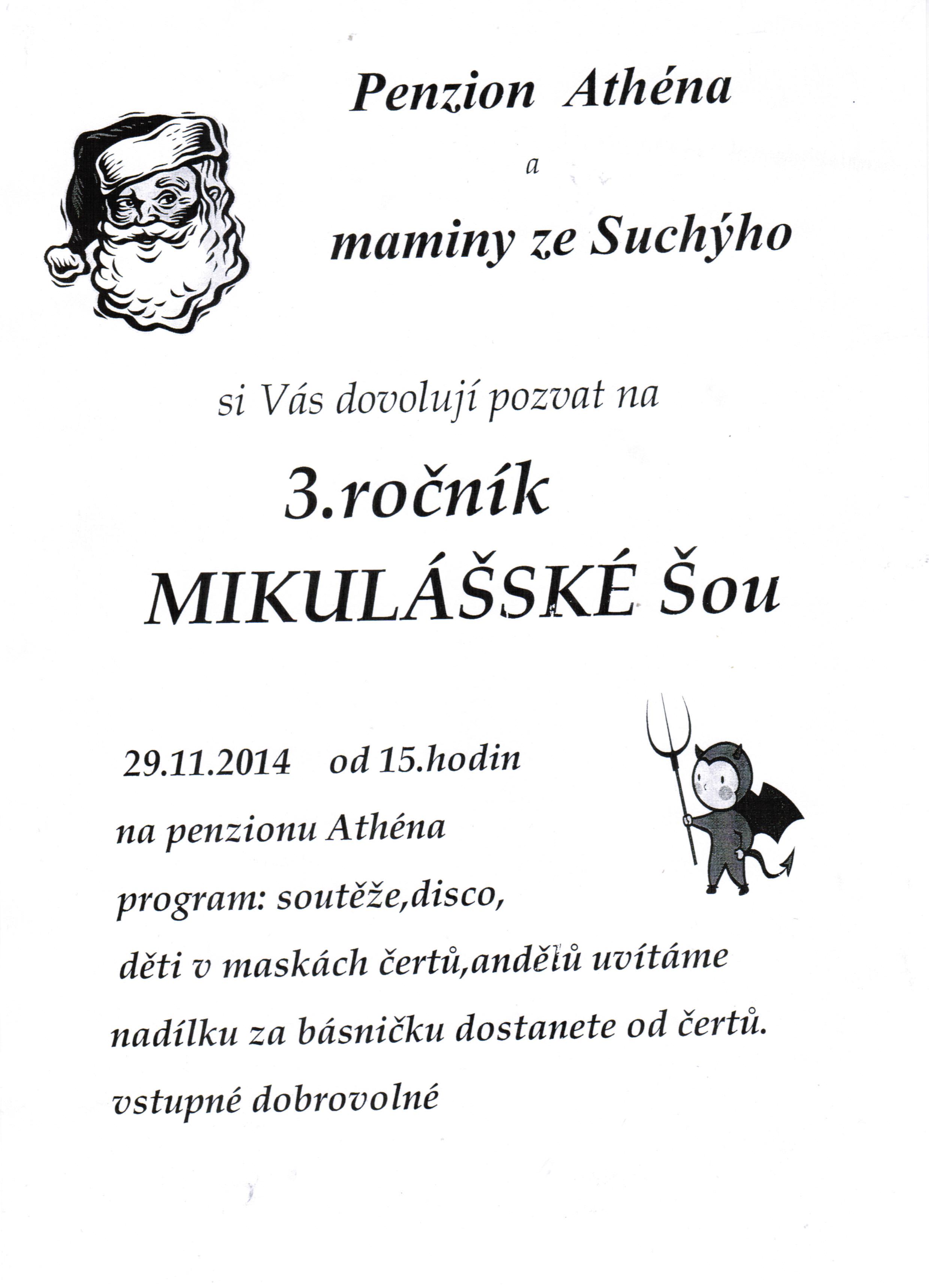 Mikulášská šou